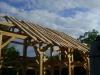 Le toit va être posé