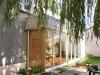 Extension d\'une maison avec véranda en bois