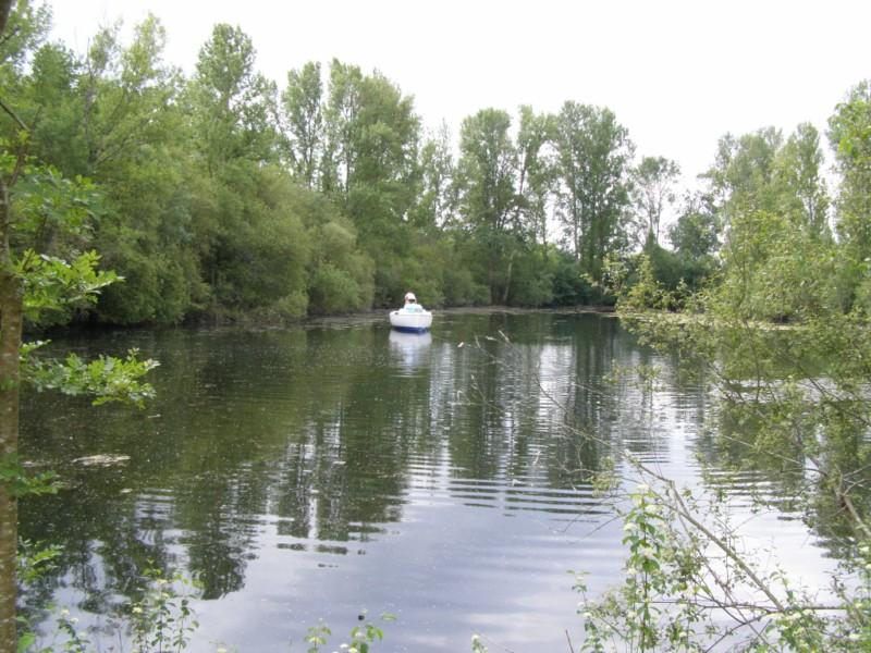 balade en bateau sur l\'étang