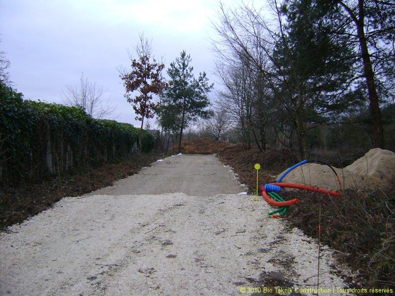 Viabilisation de l\'accès au terrain