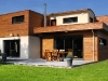 Maison à ossature bois suivant procédé Bioteknik ®