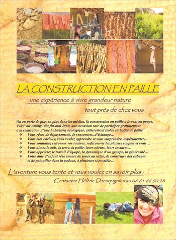 Affiche chantier Hélène Decarpignies