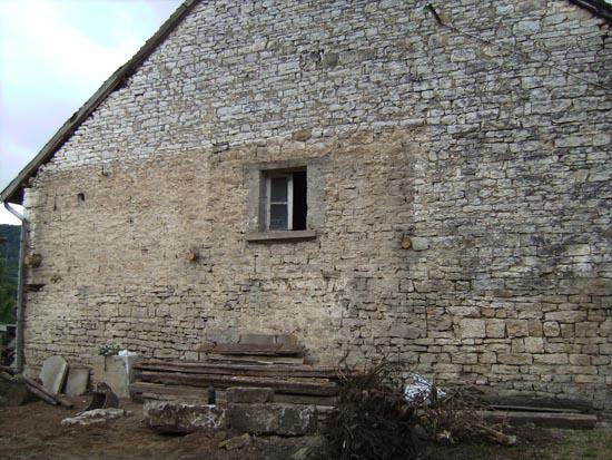 La maison en pierre sèche